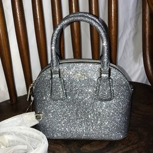 Kate Spade Glitter Mini Dome Satchel Crossbody